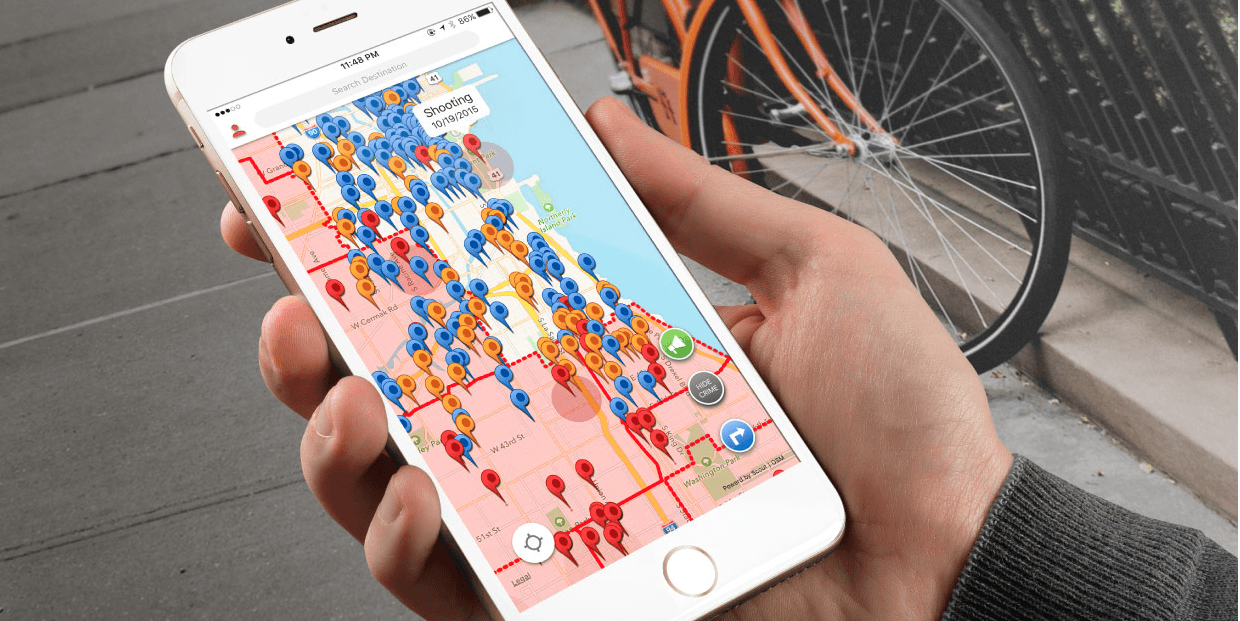 RedZone wants to navigate you away from crime