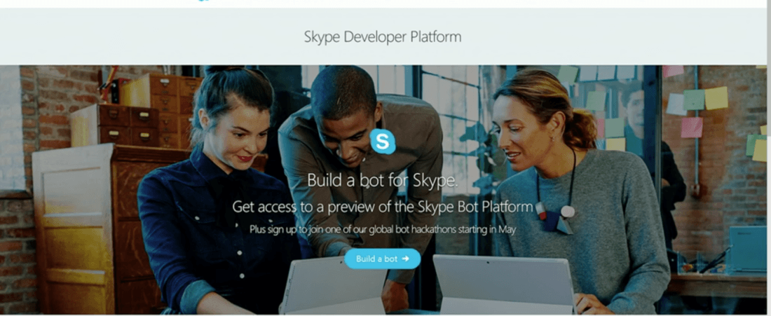 Skype is giving devs tools to build their own bots