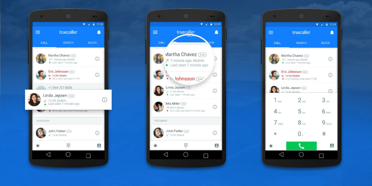 Truecaller for Android lets you know if your contacts are free for a chat