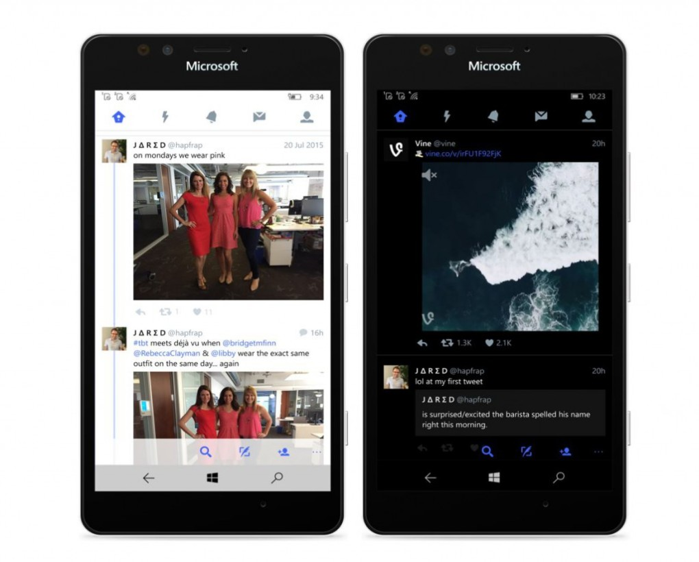 Windows 10 Mobile now has an official Twitter app that doesn't suck