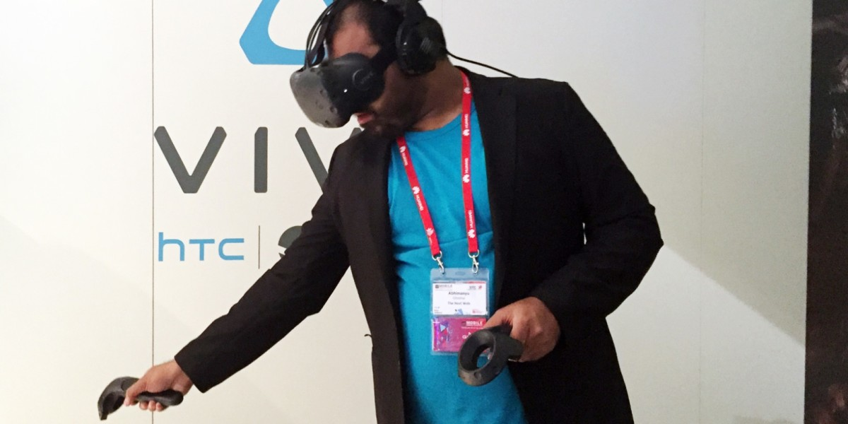 HTC says if Vive VR owners try to sit on imaginary furniture, they'll fall on their real ass