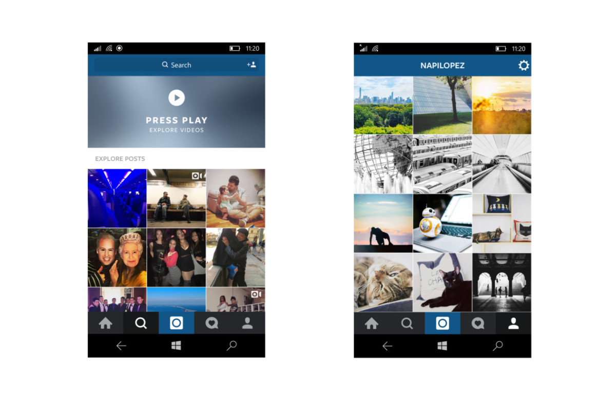Instagram beta for Windows 10 mobile is here