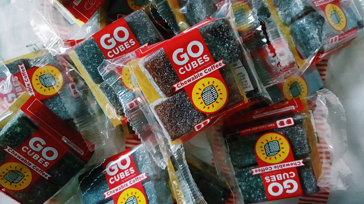I tried Go Cubes chewable coffee, and I'm pretty sure this is what cocaine feels like