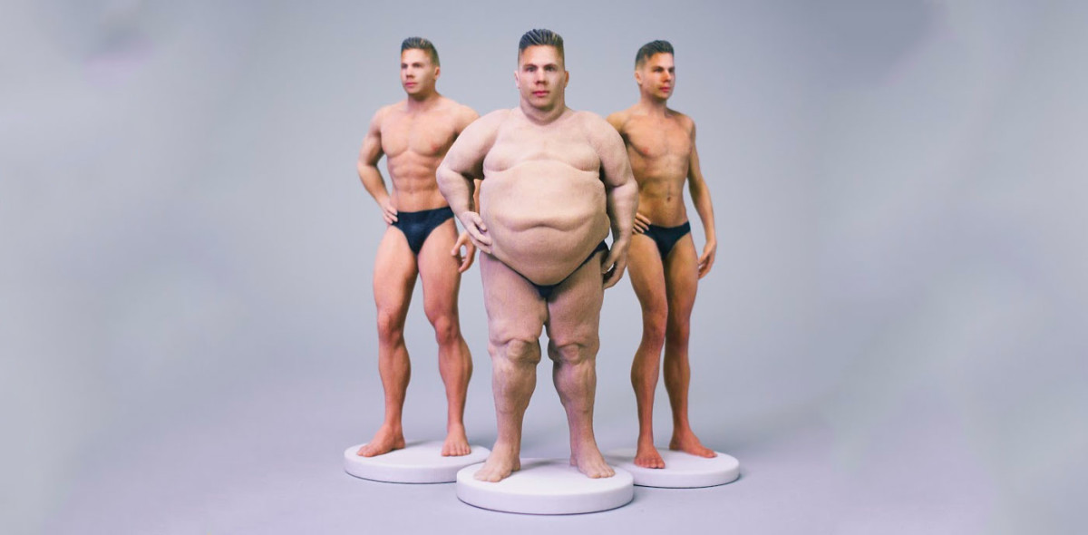 Send your loved ones (or enemies) a 3D-printed nude selfie, if that's your thing