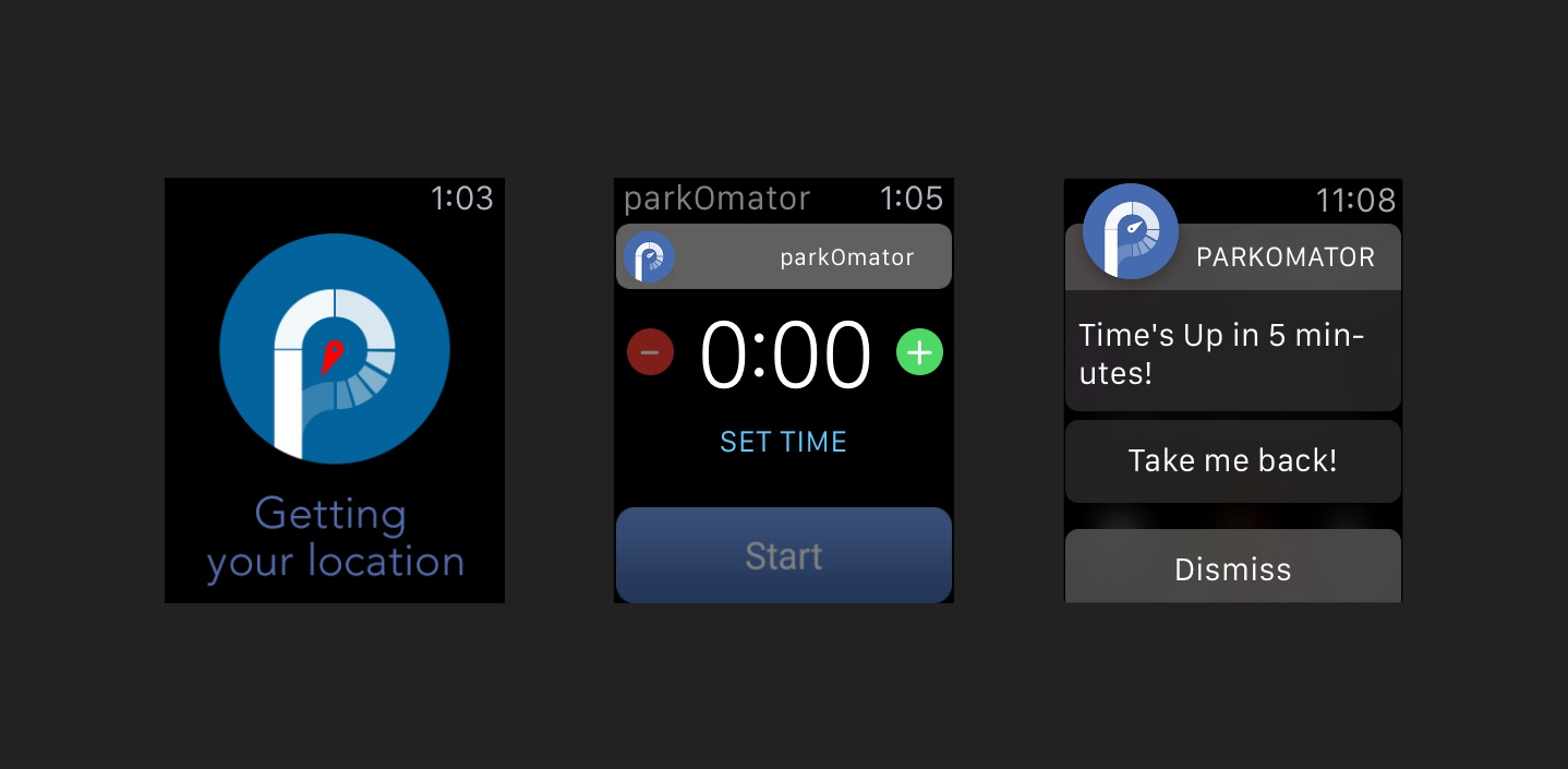 parkOmator for Apple Watch outshines its iPhone app