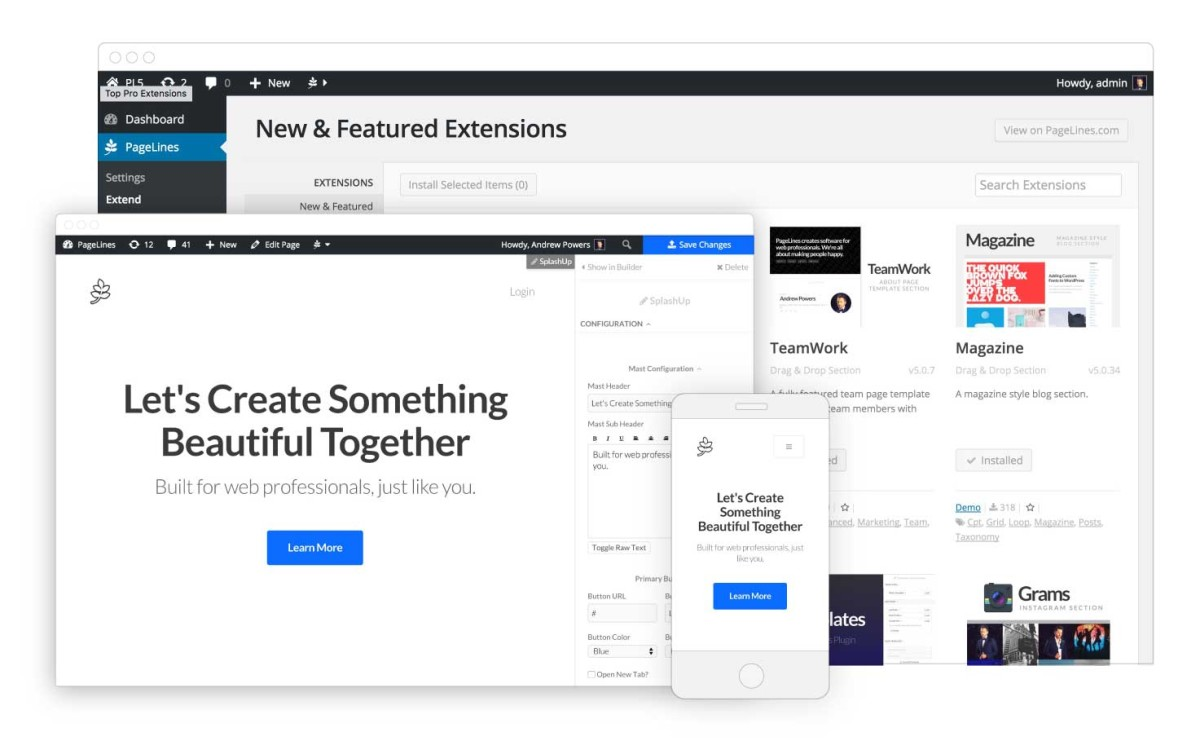 Platform 5 makes it easier than ever for web developers to wrestle with WordPress