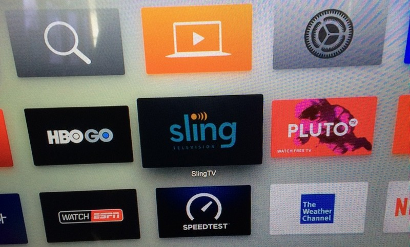 Leaked images suggest Sling TV is coming for Apple TV