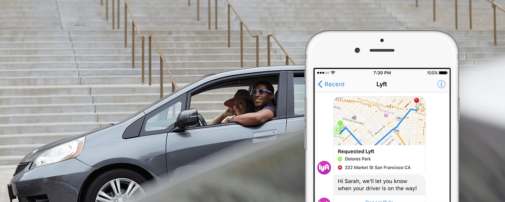 Lyft launches its open API for developers with Facebook Messenger integration