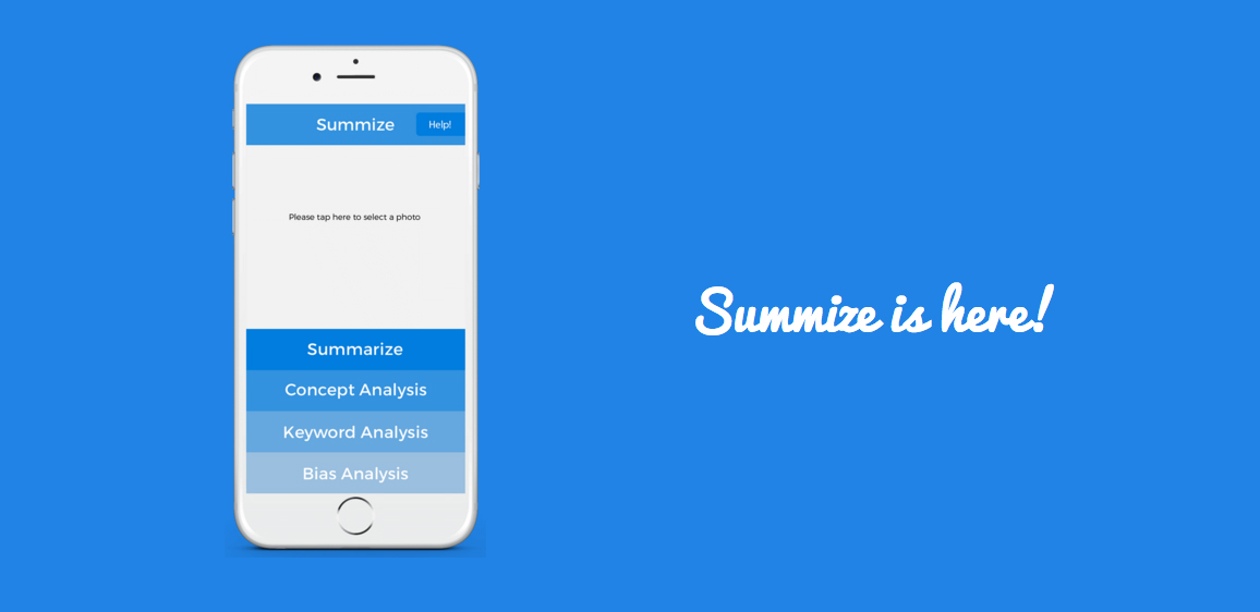 Teenagers have built a summary app makes studying easier
