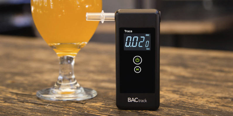 BACtrack Trace Pro breathalyzer makes sure you're not drunk driving