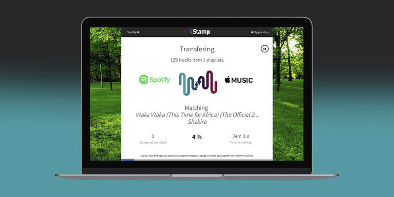 Move music between your favorite services with Stamp premium