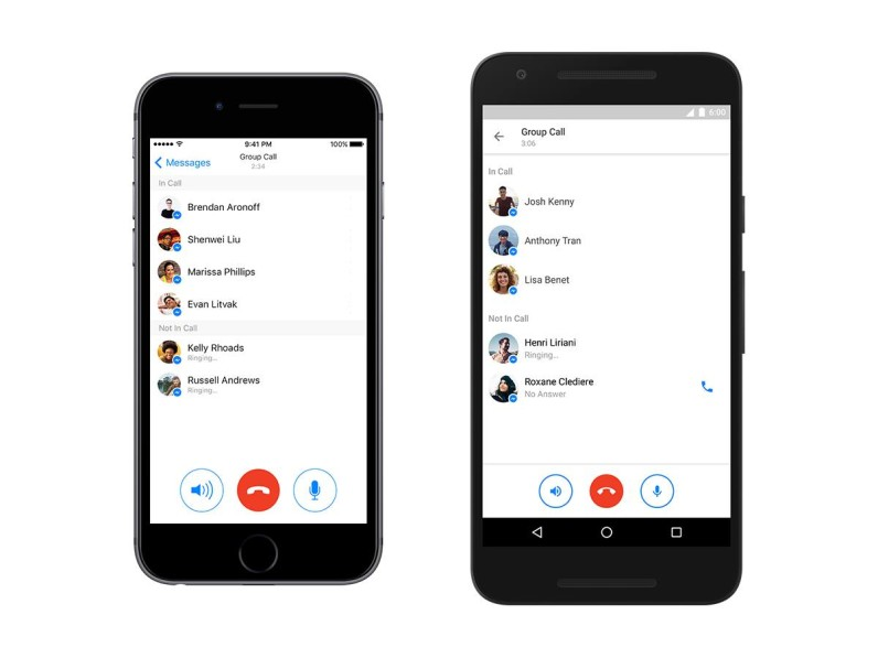 Facebook Messenger launches group calls globally [Update]
