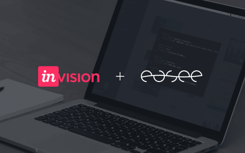 Invision acquires Easee, an animation tool for designers
