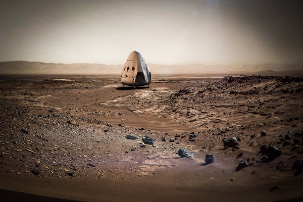 SpaceX says it's sending a Dragon to Mars in 2018
