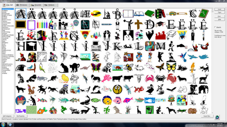 microsoft clip art has finally got a proper makeover rh thenextweb com ms clipart download ms clip art free