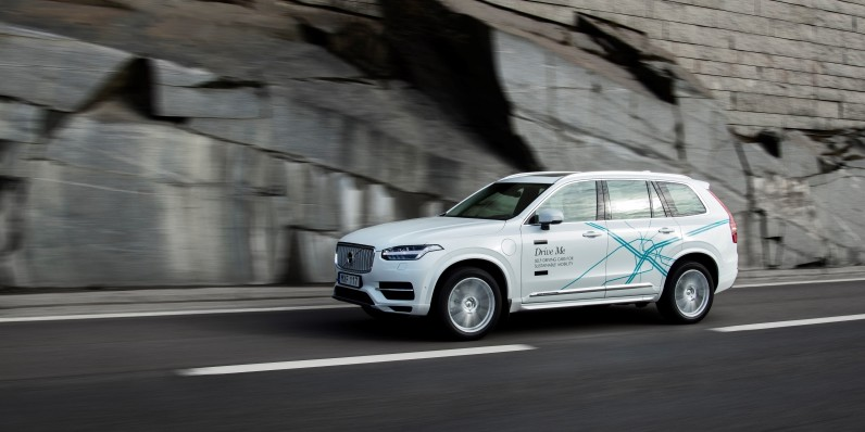 Volvo is putting 'everyday users' behind the wheel of its driverless cars in London