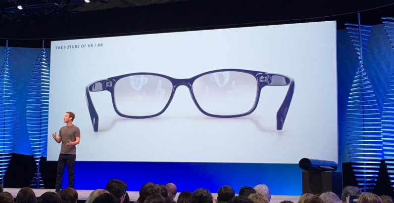 Facebook says VR headsets will look like Ray-Bans in 10 years