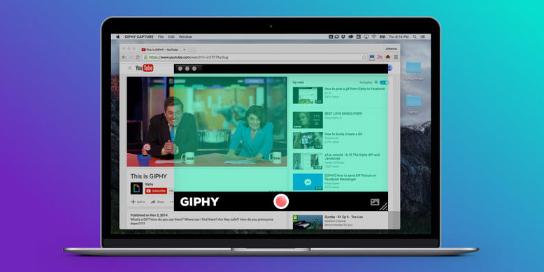 Giphy's new Mac tool lets you capture HD GIFs from any app on your desktop
