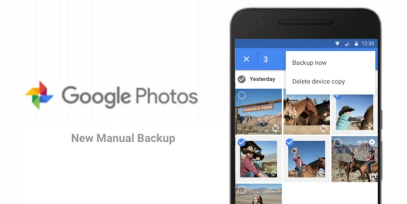 Google Photos now lets you manually back up photos on Android