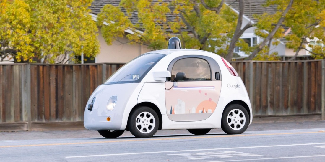 google, self-driving car, autonomous car