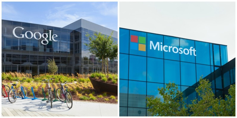 Microsoft and Google have agreed to play nice and give the lawsuits a rest
