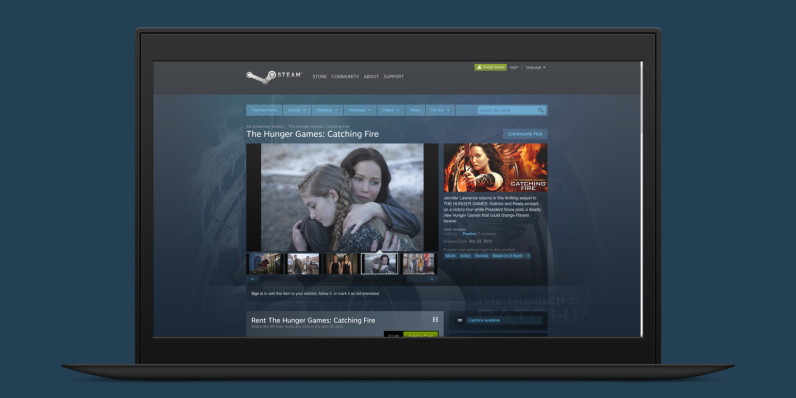 Nobody asked Steam to stock Hollywood movies, but it now has over a hundred of them