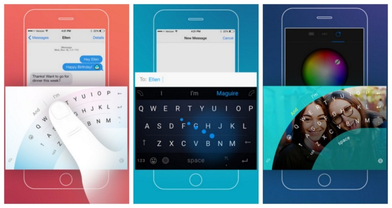 Microsoft's new iOS keyboard could help you stop dropping your phone