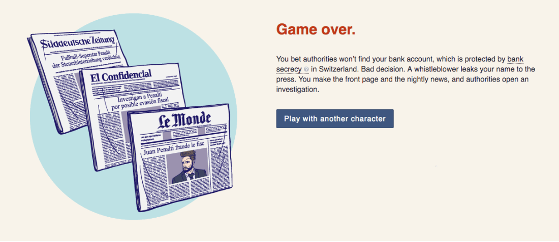 Play the #PanamaPapers game to see what it's like to be rich enough to avoid tax