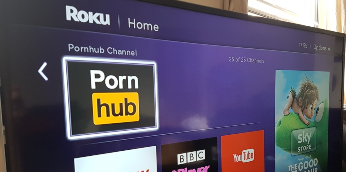 you can now watch pornhub on your tv for free