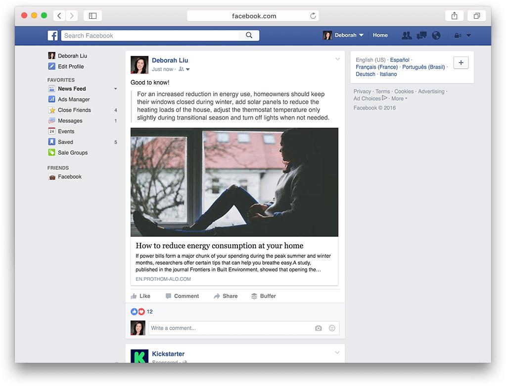 Facebook Stock Articles