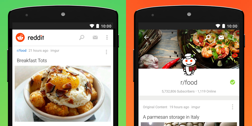 Reddit's official Android and iOS apps are here