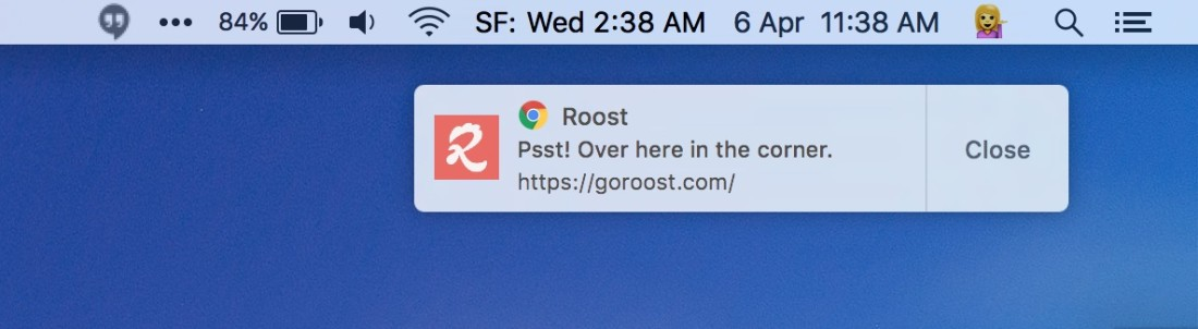 Chrome is finally getting native push notifications on Mac