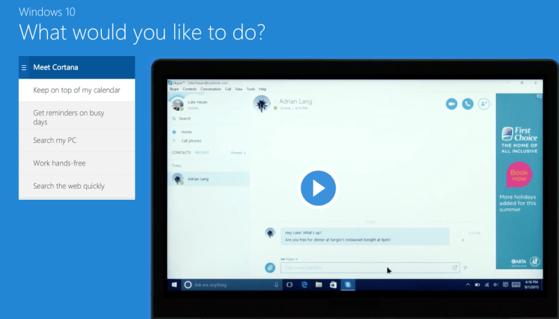 Tempted to try Windows 10? New 'emulator' let's you do it without