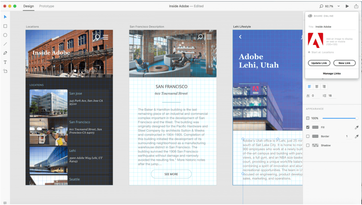 Adobe XD update brings a ton of new features