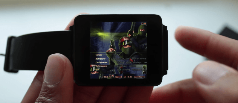 Here's how to play Counter Strike on your Android Wear watch