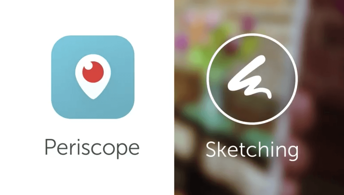 Periscope officially launches sketching feature for livestreams