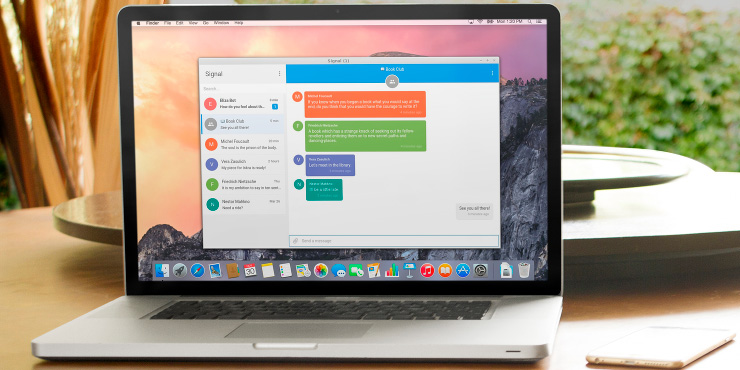 Signal's encrypted messaging app for desktop is now open to all
