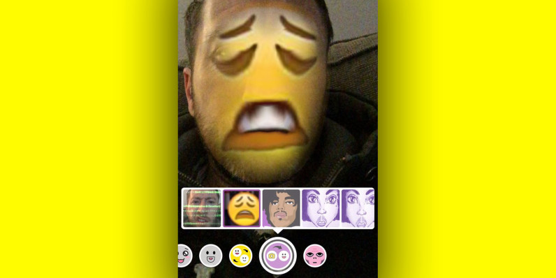 Snapchat for iOS now lets you replay any snap for free and face swap with any photo