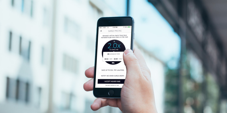 Uber wants to hide its surge pricing with upfront fares