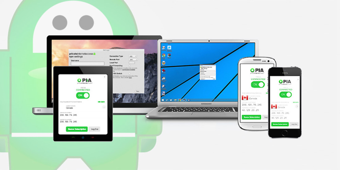 Anonymous and unrestricted: 2-year subscription to Private Internet Access VPN