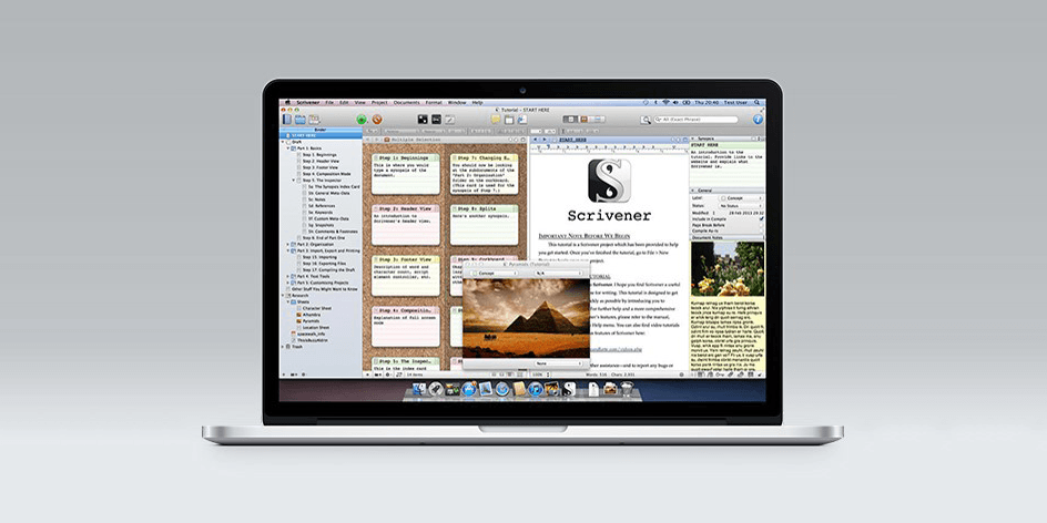 Trade Word for Scrivener 2, the future of word processor apps