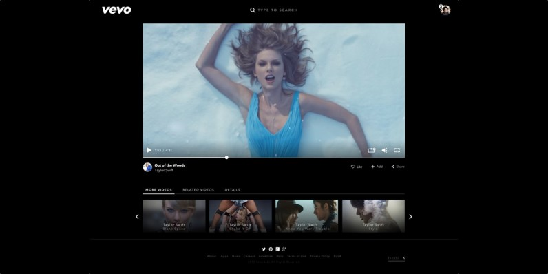 Vevo's Web redesign makes it the coolest place to watch music videos