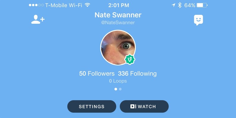 Vine's new 'Watch' feature makes it less loopy (but more personal)