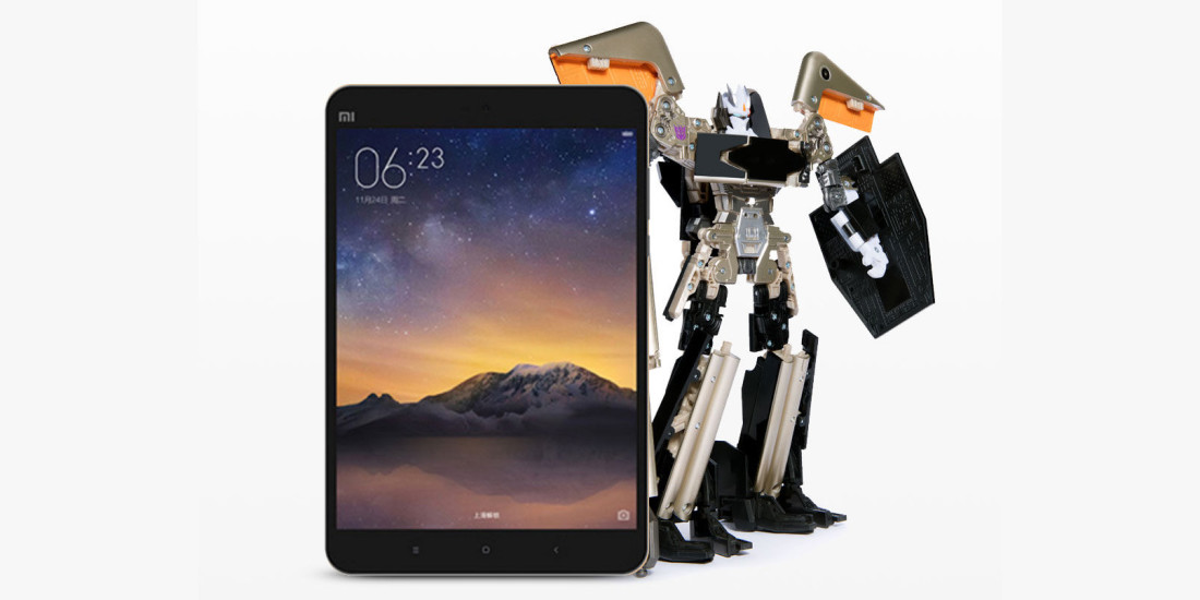 Xiaomi is crowdfunding this wicked Transformer tablet