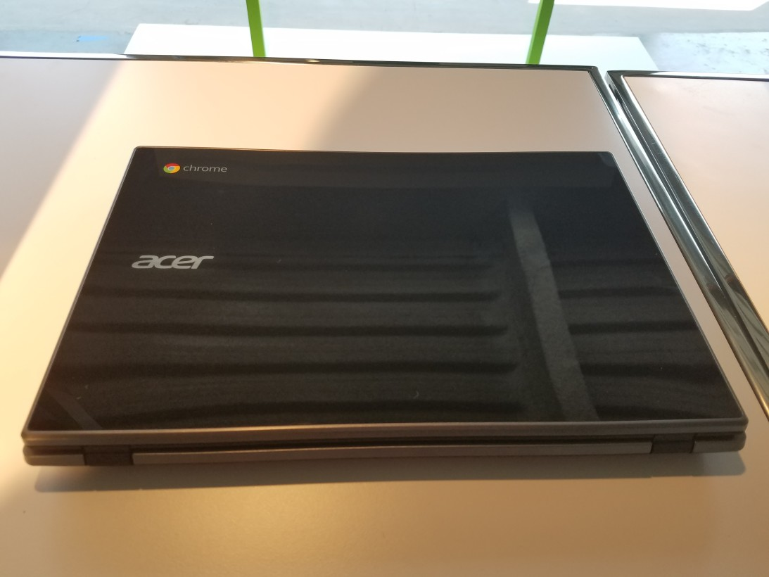 Acer's new Chromebook can withstand spills and 4-foot drops