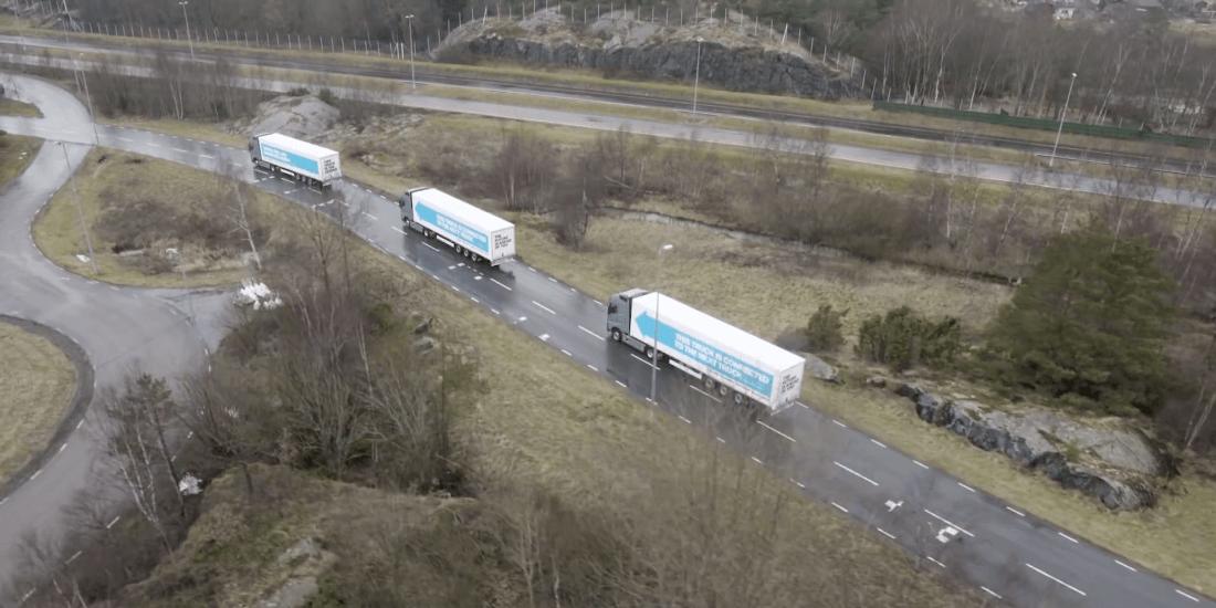 A fleet of self-driving trucks just spent a week cruising through Europe