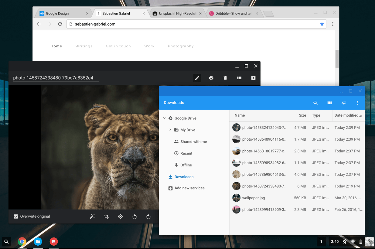 Material Design For Chrome Os Is A Lot Like You'll Find For Android, And  That's Probably The Point As We've Detailed Before, Google Wants Material  Design