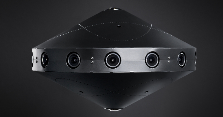 Facebook's 'Surround 360' is a $30k camera that shoots 360 video in 8k resolution
