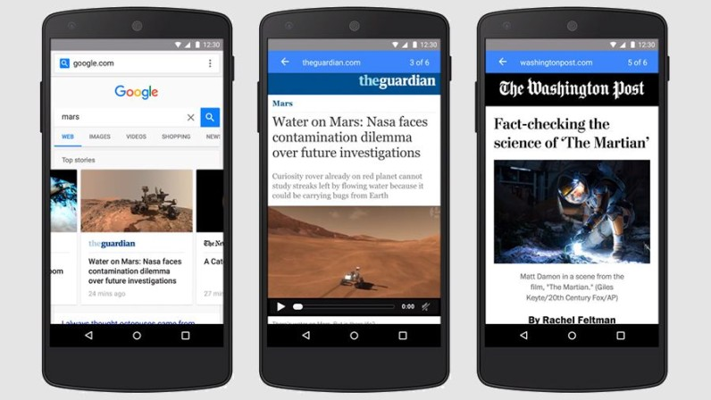 Google is bringing AMP to mobile search so it will be the new normal