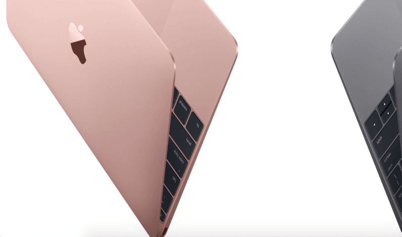 Apple refreshes the MacBook with better specs and a Rose Gold option